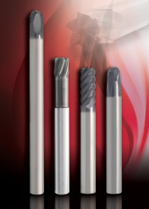 Solid Carbide Hard Material End Mills