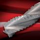 Hochleistungs-Vollhartmetall-Schrupp-Schaftfräser