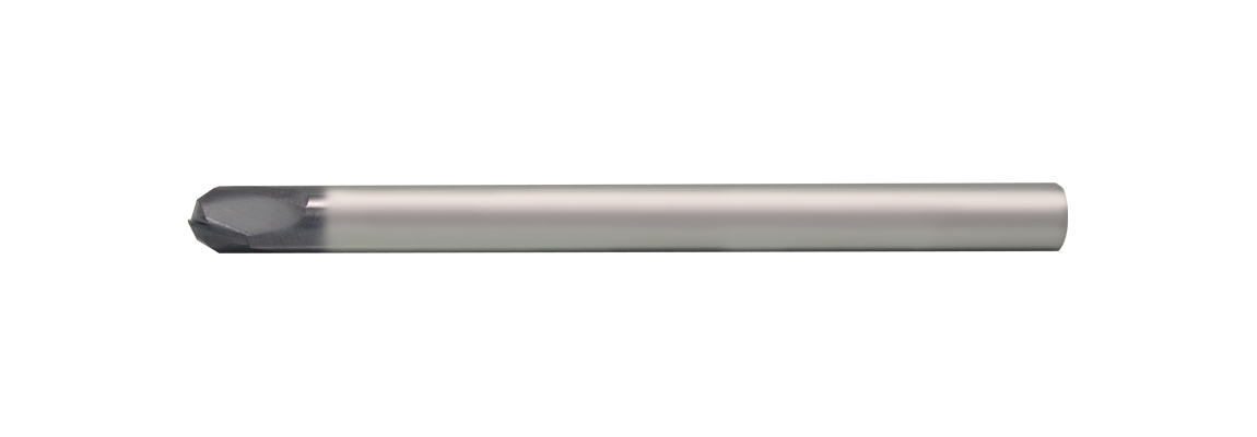Solid Carbide 2 Flute Ball Nose Finishing End Mills - Long Series - Plain Shank - Coated