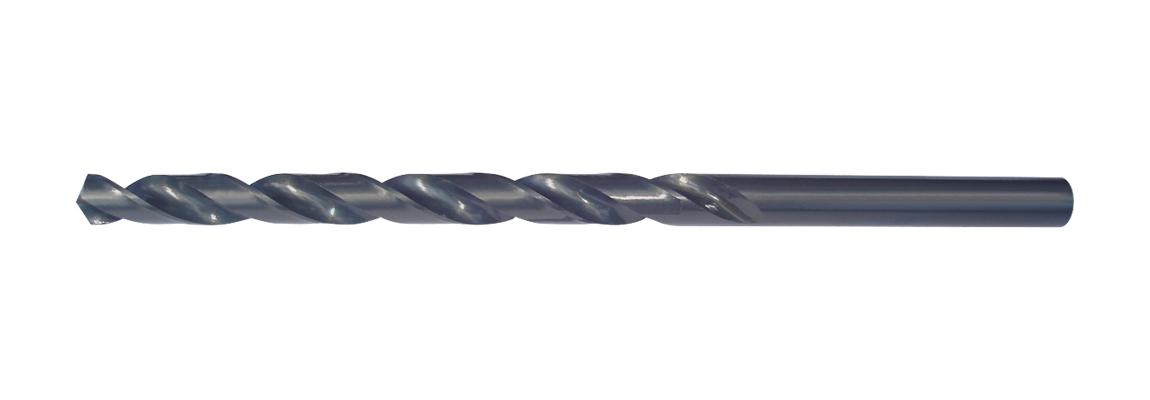 Bohrer mit Zylinderschaft, lange Serie – HSS – Blaue Oberfläche