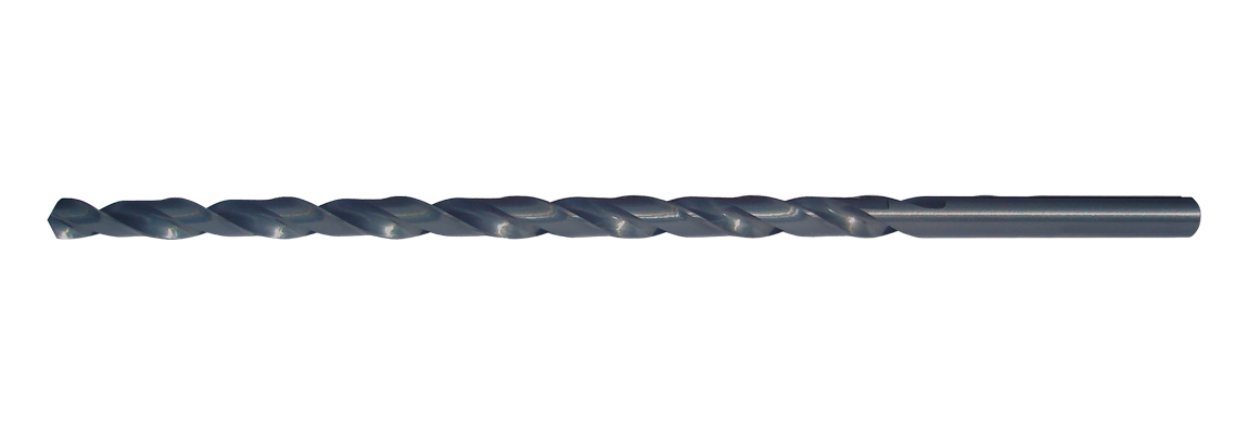 Straight Shank Extra Length Drills - HSS - Blue Finish