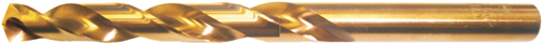 NDX Jobber Drills – Heavy Duty – HSS-Co5 – Gold Oxide Finish