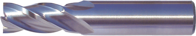 Multi-Flute End Mills – Regular Length – Plain Shank – HSS-Co8e – TiAIN Coated and Uncoated