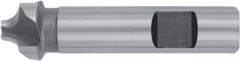 Viertelrund-Profilfräser – Schaft mit Mitnahmefläche – HSS-Co8