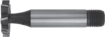 Woodruff Cutters – Threaded Shank – HSS-Co5