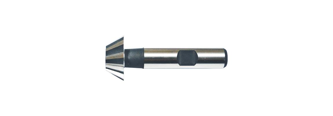 Фрезы для пазов перевернутый «Ласточкин хвост» – Хвостовик с лыской – HSS-Co5