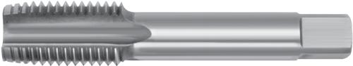 Короткие ручные метчики – Резьба BSF – HSS