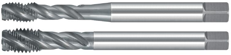 40° Spiral Flute Taps – 6G – Metric Coarse – HSSE-V3 – Blue Finish