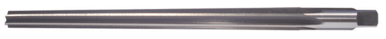 731 732 - Hand Taper Pin Reamers - Straight Flute - HSS