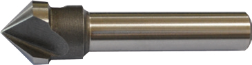 Kegelsenker mit Zylinderschaft – HSS-Co5 – Unbeschichtet und TiN-beschichtet