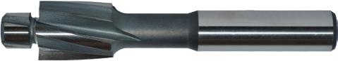 Flachsenker mit Zylinderschaft – HSS