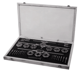 Carbon Steel Tap & Die Cased Sets