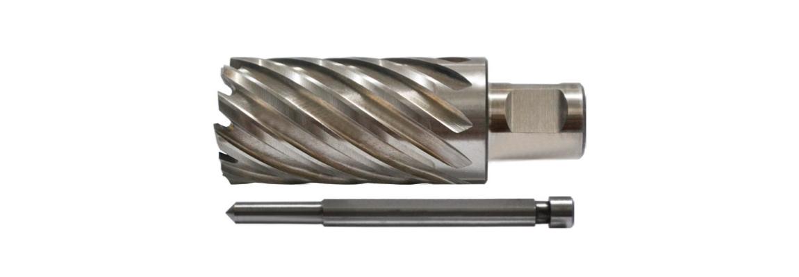 Kernbohrer (Stoßbohrer) mit Anschlagstifte – HSS