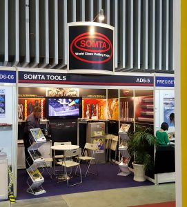 Lance Hockly on the Somta Stand