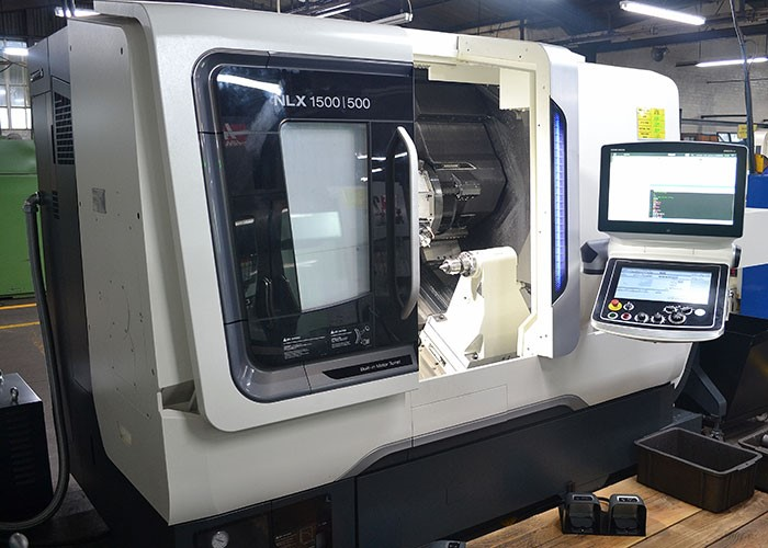 DMG MORI NLX 1500 universal CNC mill turn machine