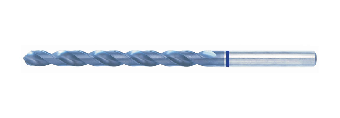Blue Band RF Long Series Drills – HSS-Co5 – TiAIN Coated