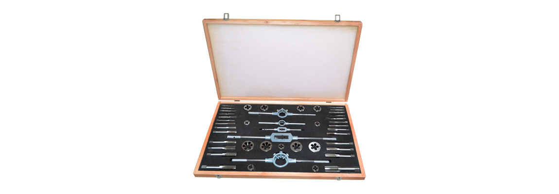 Tap & Die Cased Sets - HSS