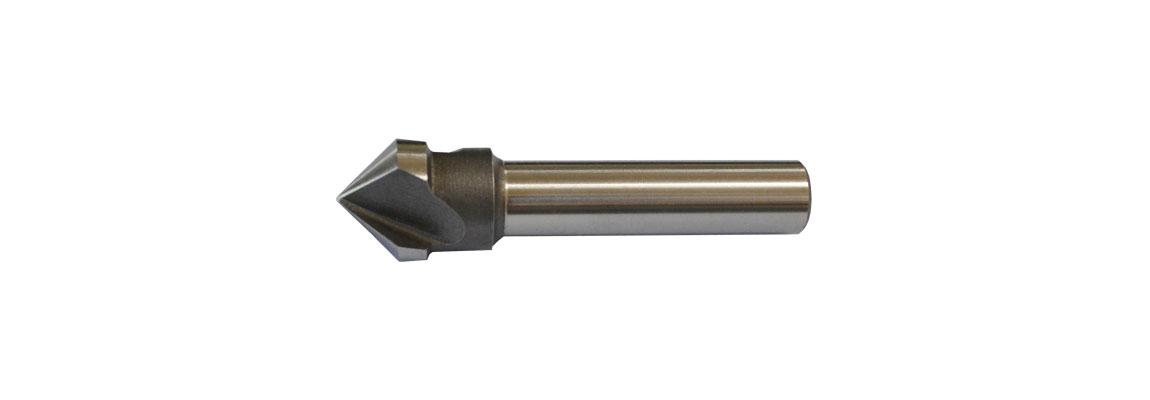 Зенковки с цилиндрическим хвостовиком – HSS-Co5 – Без покрытия и c покрытием TiN
